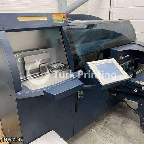 Used C.P Bourg BB 3002 EVA Perfect Binding Machine year of 2012 for sale, price ask the owner, at TurkPrinting in Perfect Binding Machines