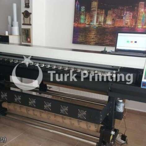 Used Epson 180 DX7 Digital Printing Machine year of 2017 for sale, price 27500 TL, at TurkPrinting in Large Format Digital Printers and Cutters (Plotter)
