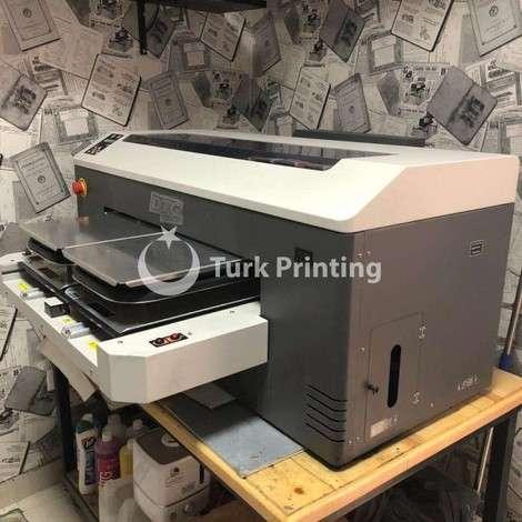 Satılık ikinci el 2017 model DTG M2 Doğrudan giysiye baskı makinası 7000 USD TürkPrinting'de!