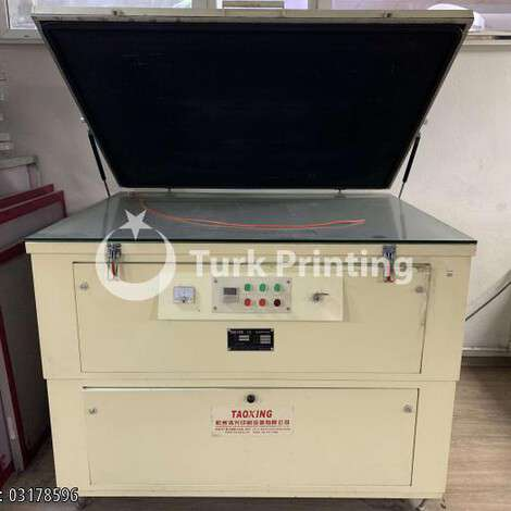 Used Taoxing EXPOSURE MACHINE year of 2013 for sale, price 1500 USD EXW (Ex-Works), at TurkPrinting in Plate Burners (platemakers)