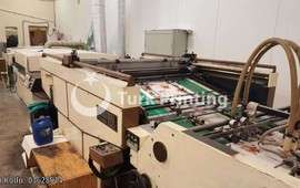 SCM112+UV spot Screen Printing Machine