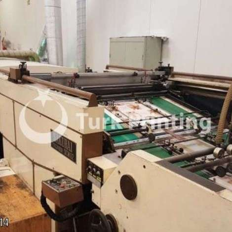 Used Sakurai SCM112+UV spot Screen Printing Machine year of 1988 for sale, price ask the owner, at TurkPrinting in Screen Printing Machines
