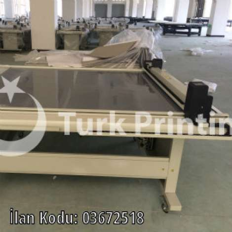 Used Aoke DCH30 CNC flatbed sample cutter plotter year of 2019 for sale, price 2 TL EXW (Ex-Works), at TurkPrinting in Flatbed Cutters & Routers
