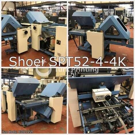 Satılık ikinci el 1995 model Shoei SPT52-4-4K Kağıt Katlama Makinası fiyat sorunuz TürkPrinting'de! Katlama (Kırım) Makinaları kategorisinde.