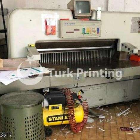 Used Polar 150 EL Paper Cutter year of 1970 for sale, price ask the owner, at TurkPrinting in Paper Cutters - Guillotines