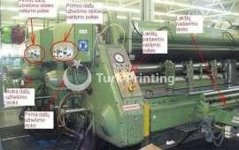 2 Color Printer Slotter Machine, 3500x1600 mm