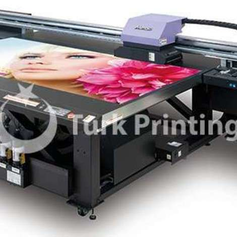 Used Mimaki JFX200-2513 DIGITAL UV PRINT MACHINE year of 2019 for sale, price 45000 EUR FCA (Free Carrier), at TurkPrinting in Flatbed Printing Machines