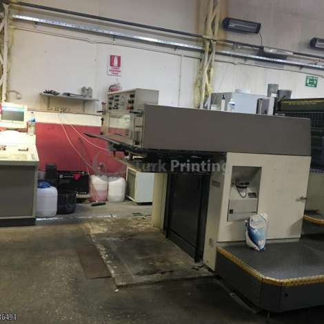 Used Man-Roland 300 4 color printinting machine year of 1994 for sale, price 50000 EUR EXW (Ex-Works), at TurkPrinting in SheetFed Offset Printing Machines