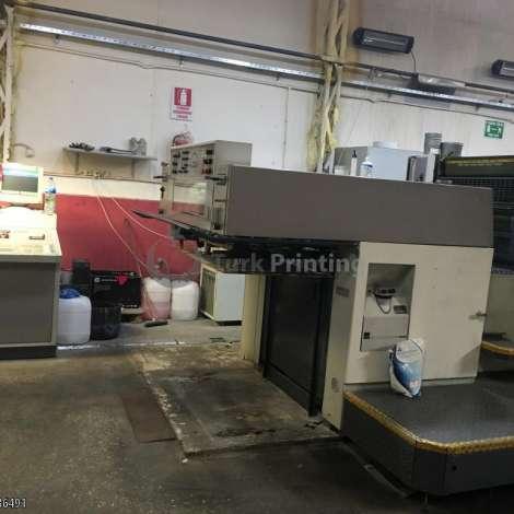 Satılık ikinci el 1994 model Man-Roland 300 4 renkli ofset baskı makinesi 50000 EUR EXW (Ex-Works) TürkPrinting'de! Tabaka Ofset Baskı Makinaları kategorisinde.