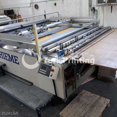 Used Thieme 5060 Screen Printing Machine year of 2004 for sale, price 50000 EUR, at TurkPrinting in Screen Printing Machines