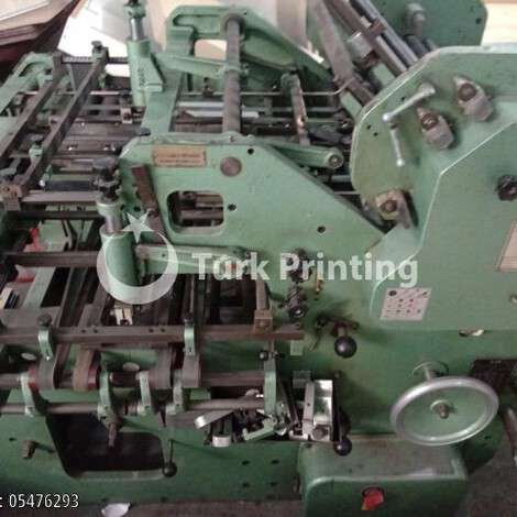 Used Stahl Paper Folder year of 1988 for sale, price 1500 EUR, at TurkPrinting in Folding Machines