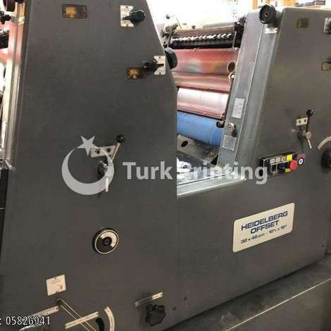 Used Heidelberg GTO 32 * 46 (DOUBLE COLOR) NP ASSEMBLY year of 1980 for sale, price 7500 EUR, at TurkPrinting in Used Offset Printing Machines