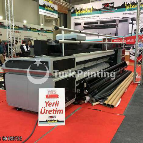 Used Kenza WIDE-FORMAT DIGITAL PRINTER UV 5M year of 2019 for sale, price 95000 USD EXW (Ex-Works), at TurkPrinting in Large Format Digital Printers and Cutters (Plotter)