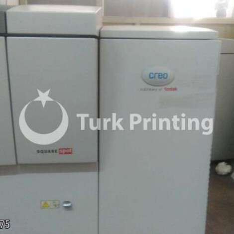 Used Kodak Creo trendsetter 800 II Quantum CTP year of 2006 for sale, price ask the owner, at TurkPrinting in CTP Systems