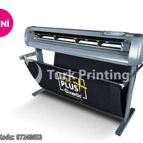 New Olympos Plus Optical Eye Plotter Foil Cutting Machine year of 2021 for sale, price ask the owner, at TurkPrinting in Large Format Digital Printers and Cutters (Plotter)