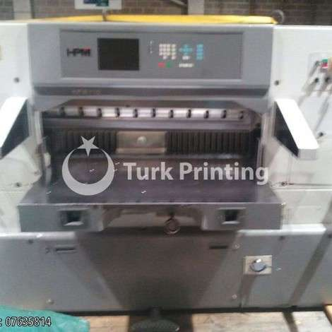 Used HPM 115CM Paper Cutting Machine - 2007 year of 2007 for sale, price ask the owner, at TurkPrinting in Paper Cutters - Guillotines