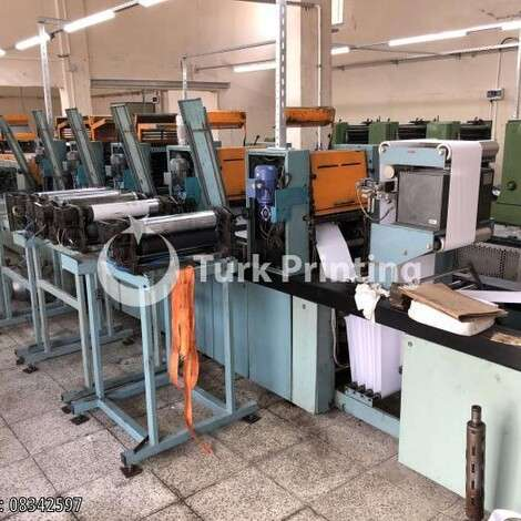 Used Edelmann COMPLETE PRINT HOUSE FOR SALE year of 1990 for sale, price ask the owner, at TurkPrinting in Continuous Form Printing Machines