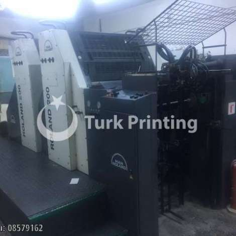 Used Man-Roland 202 E Offset Printing Press year of 2004 for sale, price ask the owner, at TurkPrinting in Used Offset Printing Machines