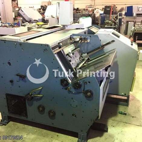 Used Aster ASTRONIC 150 book sewing machine year of 1990 for sale, price ask the owner, at TurkPrinting in Book Sewing Machines