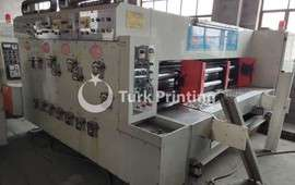 Automatic Lead Edge Feeder 3 Colour Printer Slotter Machine