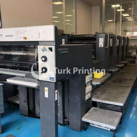 Used Heidelberg SM 74-5 Offset printing machine year of 2000 for sale, price ask the owner, at TurkPrinting in Used Offset Printing Machines