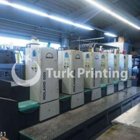 Used Man-Roland 505+LV Offset Printing Press year of 2008 for sale, price ask the owner, at TurkPrinting in Used Offset Printing Machines