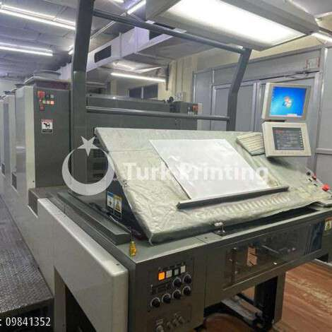 Used Komori Enthrone 426 for sale by first owner year of 2015 for sale, price ask the owner, at TurkPrinting in Used Offset Printing Machines