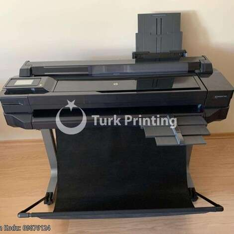 Used HP Hewlett Packard DesignJet T520 36 Printing Machine year of 2013 for sale, price 1100 USD, at TurkPrinting in Large Format Digital Printers and Cutters (Plotter)