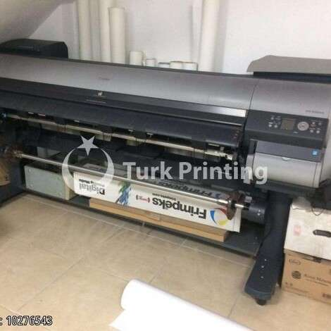 Used Canon Océ IPF9000S Indoor Digital Printing Machine year of 2010 for sale, price 3500 TL EXW (Ex-Works), at TurkPrinting in Large Format Digital Printers and Cutters (Plotter)