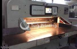 Mohr 115 Paper Cutting Machine Programmed Photocell