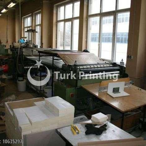 Satılık ikinci el 1988 model Tünkers S Laminasyon makinesi fiyat sorunuz TürkPrinting'de! Katlama Yapıştırma kategorisinde.