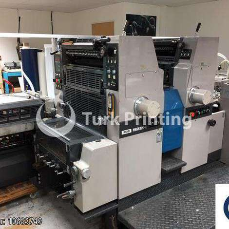 Used Ryobi 522H year of 1996 for sale, price ask the owner, at TurkPrinting in Used Offset Printing Machines