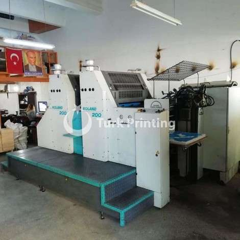 Used Man-Roland 202E OFFSET PRINTING MACHINE year of 2001 for sale, price 23000 EUR FCA (Free Carrier), at TurkPrinting in SheetFed Offset Printing Machines