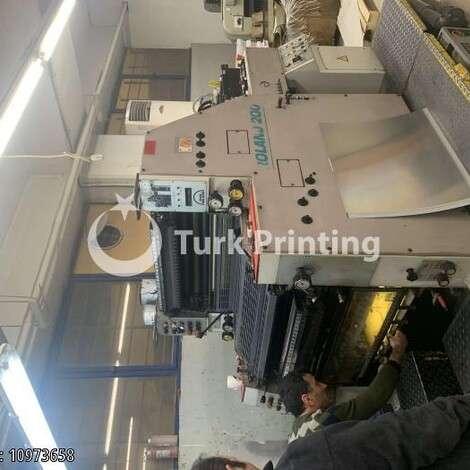 Satılık ikinci el 1999 model Man-Roland 200 İki Renkli Ofset Baskı Makinası 19000 EUR TürkPrinting'de! Ofset Baskı Makinaları kategorisinde.