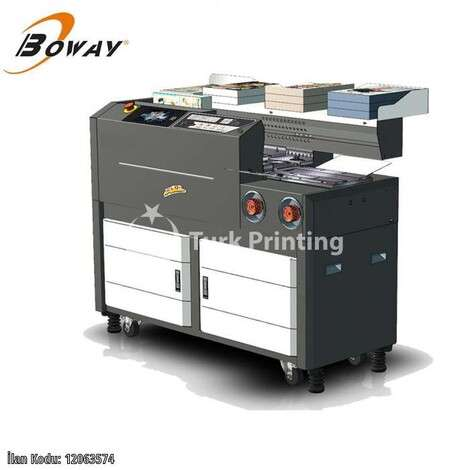 New Boway K5 MODEL PERFECT BINDING MACHINE year of 2020 for sale, price ask the owner, at TurkPrinting in Perfect Binding Machines