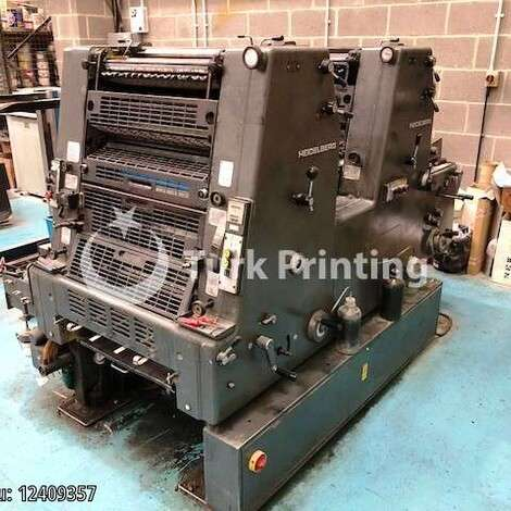 Used Heidelberg GTO 52 Z+ Offset Printing Press year of 1985 for sale, price ask the owner, at TurkPrinting in Used Offset Printing Machines