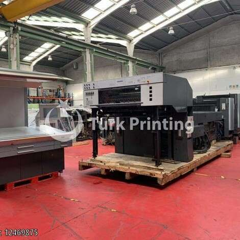 Used Heidelberg CD 102-4 LX Offset Printing Press year of 2005 for sale, price ask the owner, at TurkPrinting in Used Offset Printing Machines