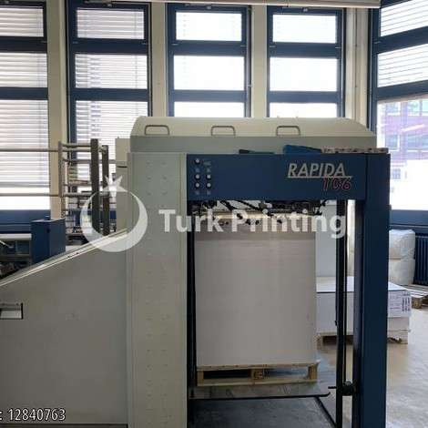 Used KBA Koenig & Bauer RA106-10-SW5 FAPC - 2011 year of 2011 for sale, price ask the owner, at TurkPrinting in Used Offset Printing Machines