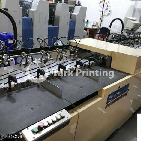 Used Col-Tec 8/16 Station A3/A4 Duplex Collator year of 2003 for sale, price ask the owner, at TurkPrinting in Gatherer Machines