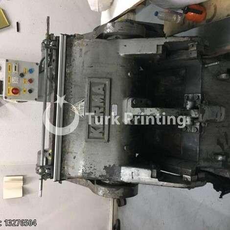 Used Wupa Kerma Die Cutting Machine 64x90 cm year of 1977 for sale, price 9800 EUR, at TurkPrinting in Die Cutters