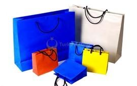 yapımı kağıt alışveriş çantası