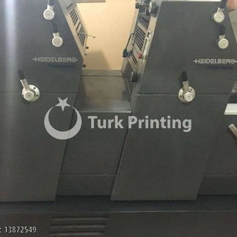 Used Heidelberg Printmaster 52-2 np+ Offset Printing Machine year of 2002 for sale, price 15.75 EUR, at TurkPrinting in Used Offset Printing Machines