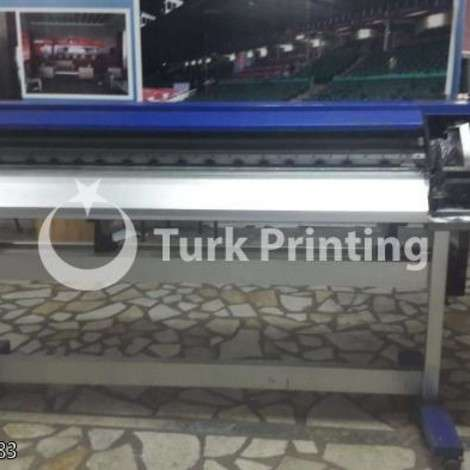 Used Master Inkjet 160 cm eco solvent digital printing machine year of 2012 for sale, price 2000 USD EXW (Ex-Works), at TurkPrinting in Large Format Digital Printers and Cutters (Plotter)