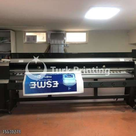 Used Polaris 320cm Digital Printing Machine year of 2011 for sale, price 26000 TL, at TurkPrinting in Large Format Digital Printers and Cutters (Plotter)