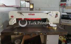 guillotine and label punching machine