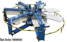 REVOLUTION JUMBO CAROUSEL AUTOMATIC SCREEN PRINTING MACHINE
