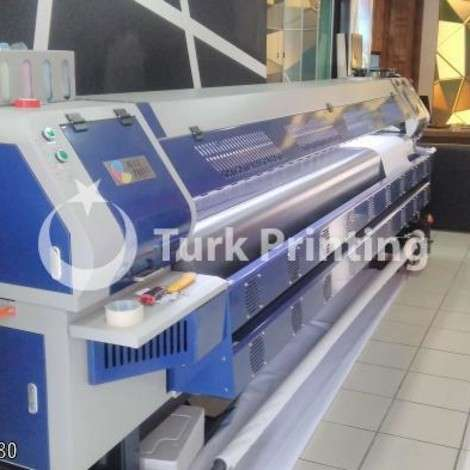 Used BluePrint Ecosolvent 3.20 cm dx5 Head Digital Printing Machine year of 2017 for sale, price 45000 TL FOB (Free On Board), at TurkPrinting