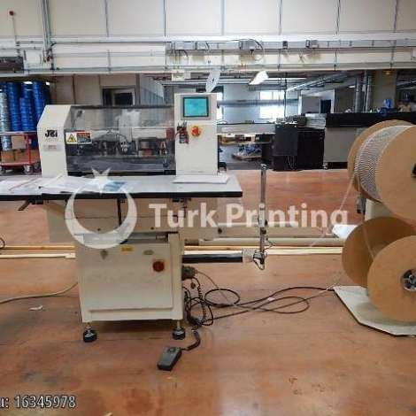 Used James Burn BB43H Wire-O binding + closing machine year of 2002 for sale, price ask the owner, at TurkPrinting in Wire and Spiral Machines