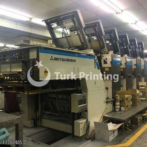 Used Mitsubishi 3G-6 Offset Printing Press year of 1999 for sale, price ask the owner, at TurkPrinting in Used Offset Printing Machines