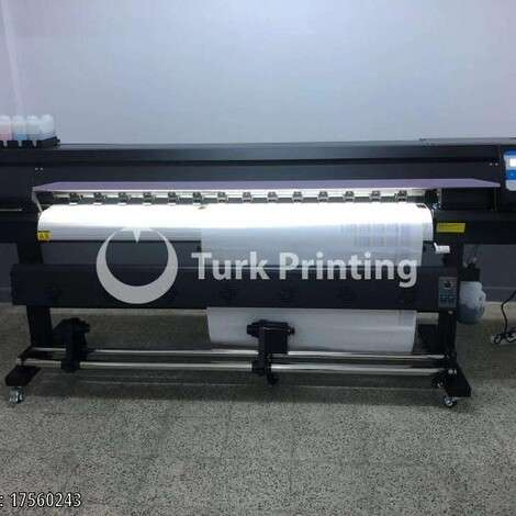 New Mimaki XP600 DOUBLE HEAD 180 CM PRINTING MACHINE NEW year of 2020 for sale, price 5250 USD EXW (Ex-Works), at TurkPrinting in Large Format Digital Printers and Cutters (Plotter)